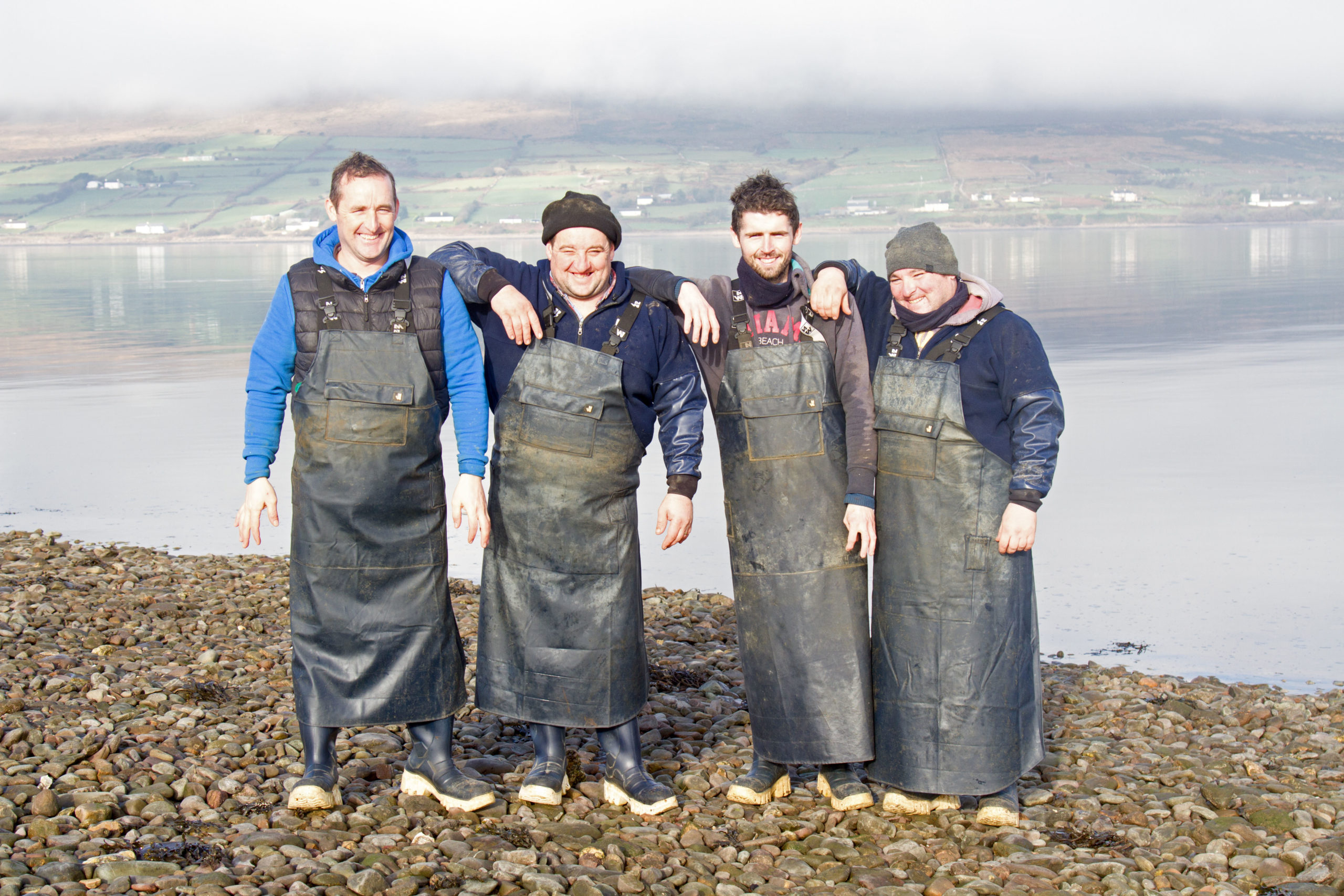 Cromane Bay Shellfish Team