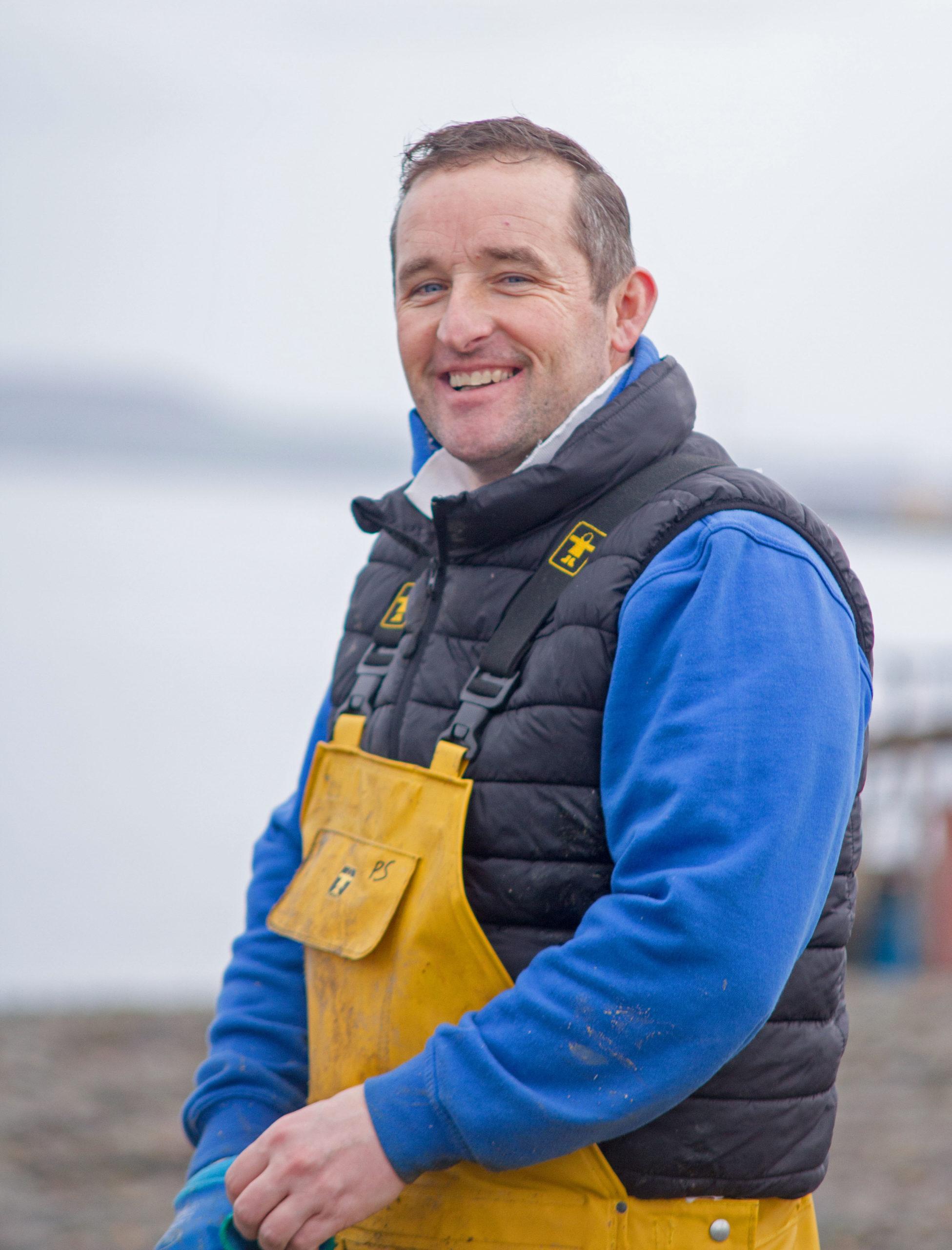 Owner Patrick O Sullivan Cromane Bay Shellfish