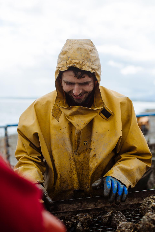 Michael O Sullivan of Cromane Bay Shellfish @edschofieldphoto