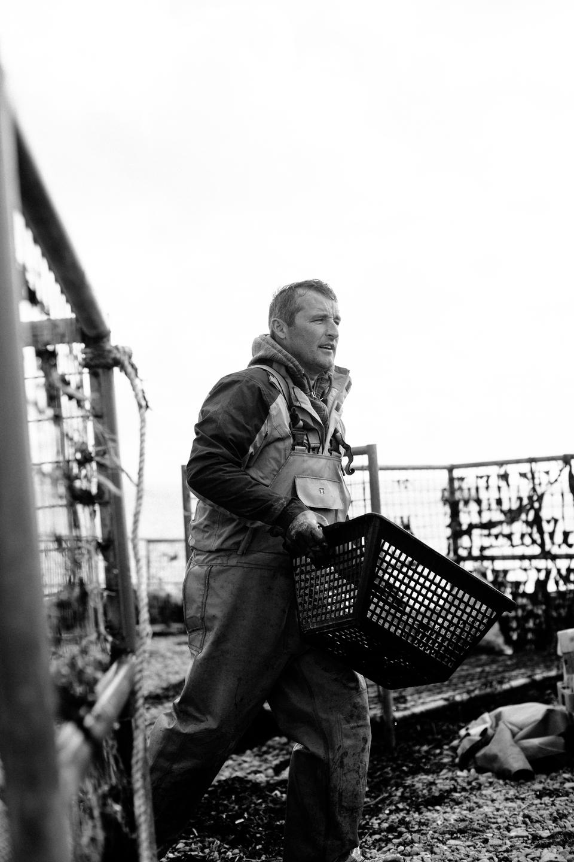 Patrick T O'Sullivan Cromane Bay Shellfish @edschofieldphoto